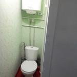 Туалет. Бюджетный вариант квартиры на Радиогорке