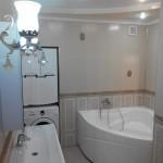 В квартире в центре Севастополя на сутки ванная комната премиум дизайна